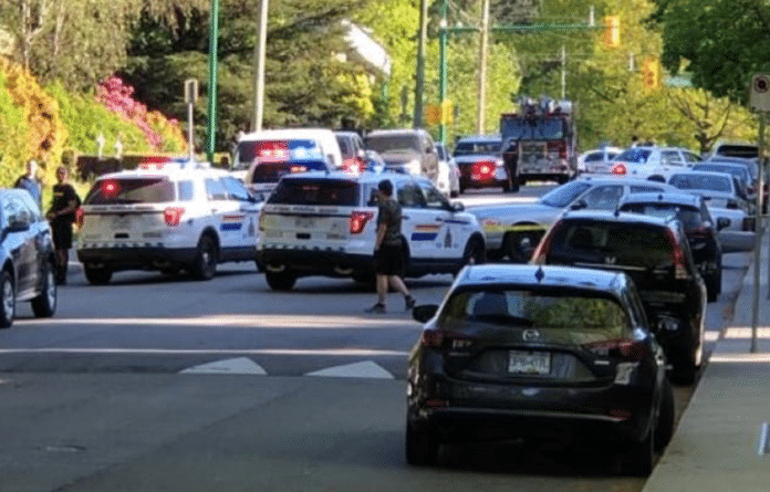 A 16-month-old baby boy was left in a hot car in Burnaby, a community east of Vancouver, BC