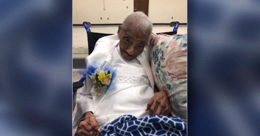 Woman celebrates 106th birthday and credits long life to her enduring faith in God