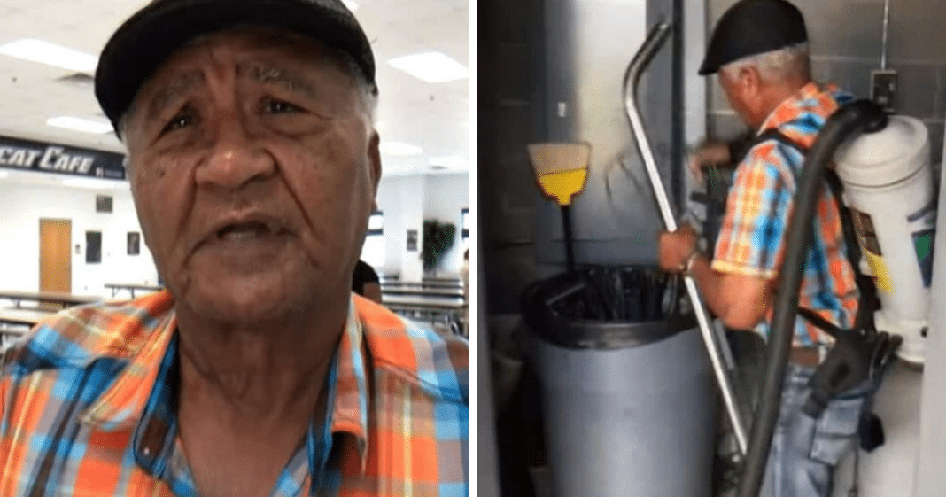 81-year-old custodian denied promotion because he didn't have a high school degree