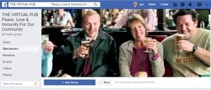 Virtual Pub facebook page Banner
