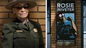 Betty Reid Soskin, 99, Rosie The Riveter