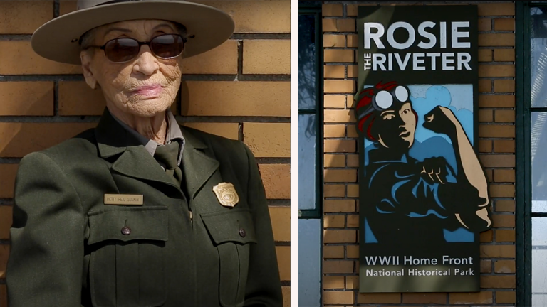 Oldest Park Ranger in America Tells Untold Story of Rosie The Riveter