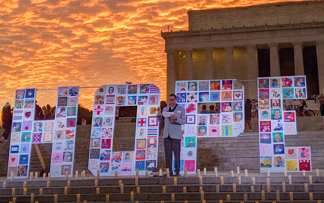 Artists Create HOPE Quilt to Comfort Frontline Workers, Honor Victims of COVID-19