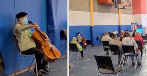 Yo-Yo Ma Holds Surprise Concert While People Received COVID-19 Vaccinations